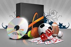 Xuenn software and sport equipment.